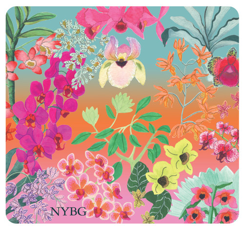 NYBG Orchid Mouse Pad