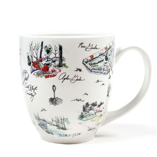 NYBG Garden Sketches Souvenir Mug