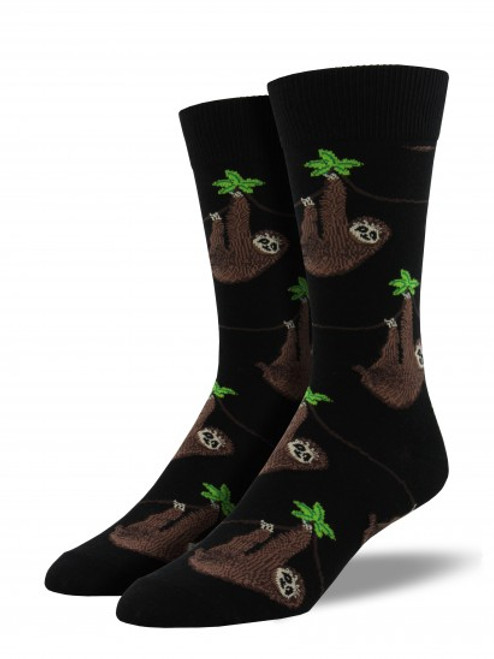 Sloth Socks - Black