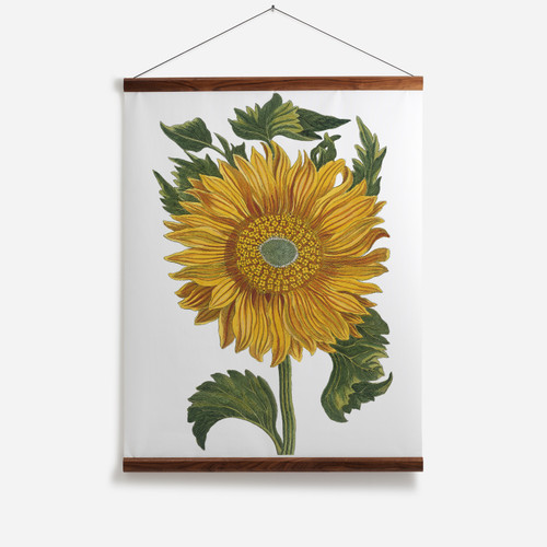 Sunflower Wall Chart