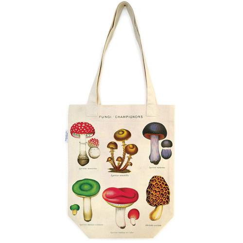 Woodland Mushroom Tote Bag