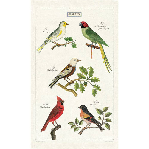 Vintage Bird Tea Towel