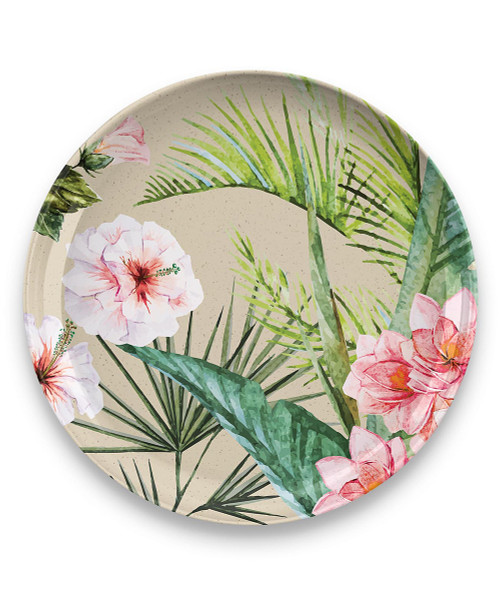 Palermo Tropical Bamboo Dinner Plate