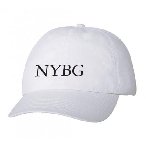 NYBG Baseball Cap - White