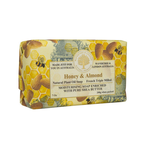 Honey & Almond 7oz Soap Bar