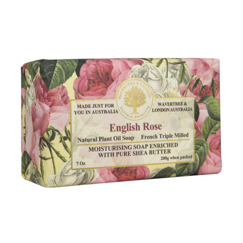 English Rose 7oz Soap Bar
