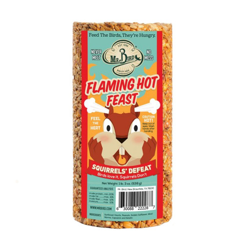 Mr. Bird Flaming Hot Feast Small Cylinder