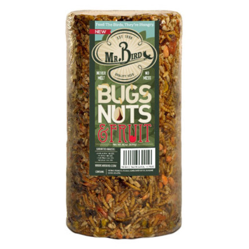 Mr. Bird Bugs, Nuts, & Fruit Small Cylinder