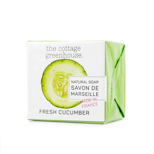 The Cottage Greenhouse Cucumber Soap