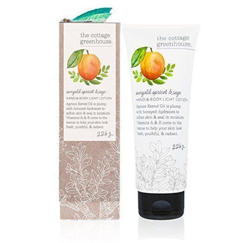 The Cottage Greenhouse Apricot Sage Lotion