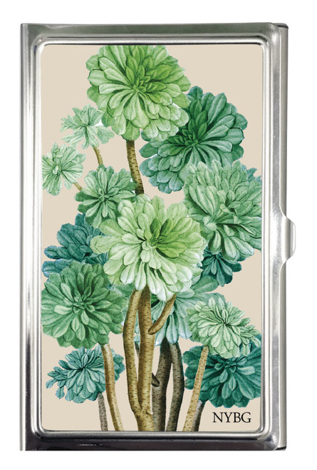 Succulent Card Case