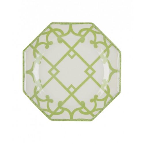 Oscar de la Renta x NYBG Green Trellis Salad Plate