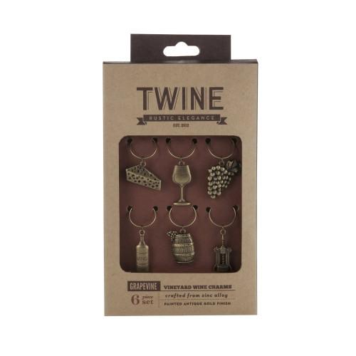 Vineyard Wine Charms