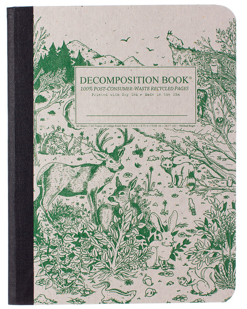 Spirit Animal Decomposition Book