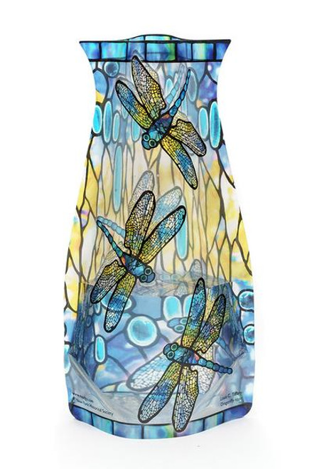 Louis C. Tiffany Dragonfly Plastic Vase