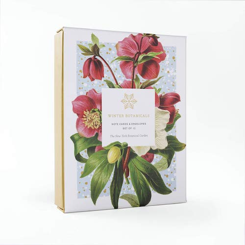 NYBG Winter Botanicals Cards Boxset
