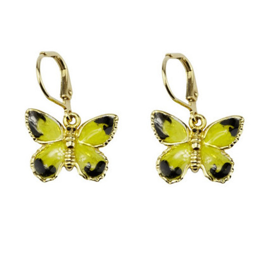 Erwin Pearl x NYBG Temple of Flora Butterfly Earrings