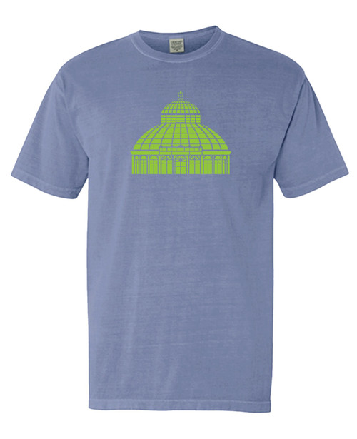 NYBG Dome T-Shirt - Periwinkle