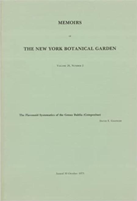 The Flavonoid Systematics of the Genus Dahlia (Compositae). Mem (26)2
