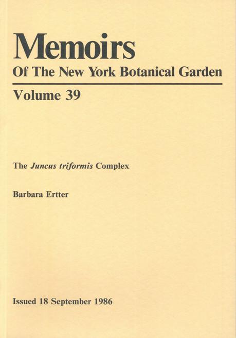 The Juncus triformis Complex. Mem (39)