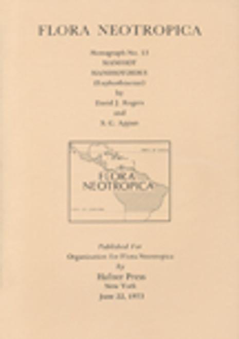 Manihot, Manihotoides (Euphorbiaceae). Flora Neotropica (13)
