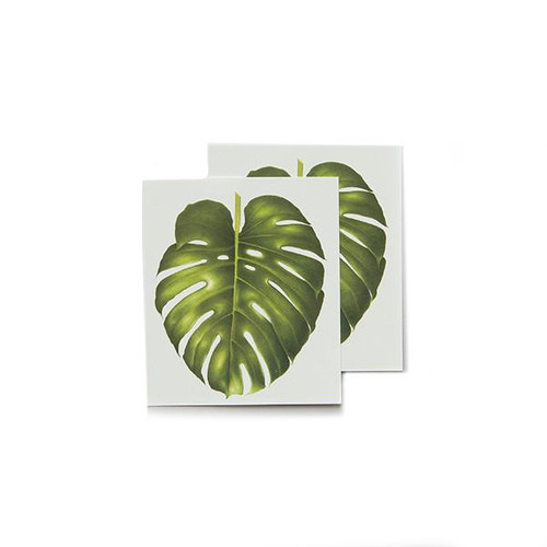 Tattly Philodendron Monstera Temporary Tattoos