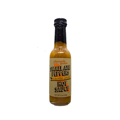 Small Axe Peppers Hot Sauce, Habanero Ginger