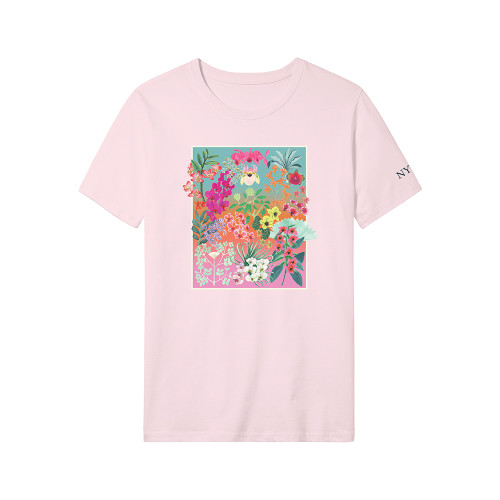 NYBG Orchid T-Shirt - Pink