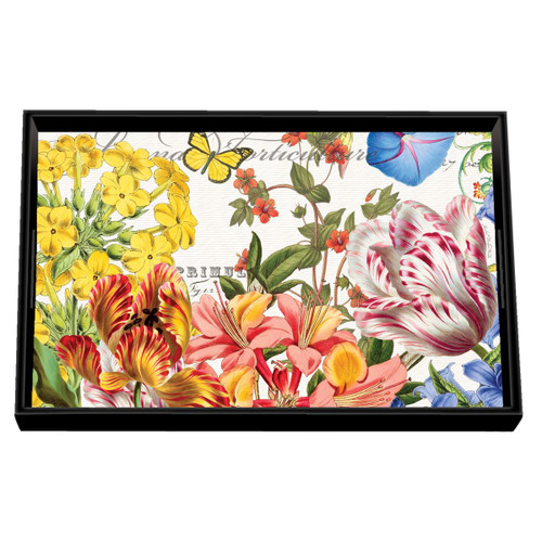 Summer Days Decoupage Wooden Vanity Tray