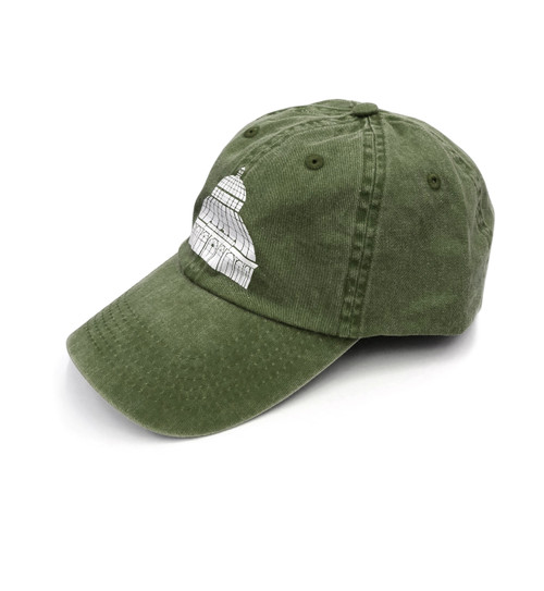 Dark Green NYBG Dome Cap