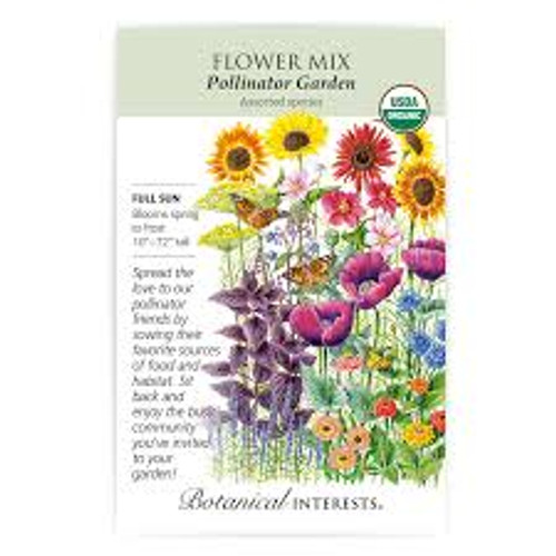 Botanical Interests - Precious Pollinators Flower Mix Seeds