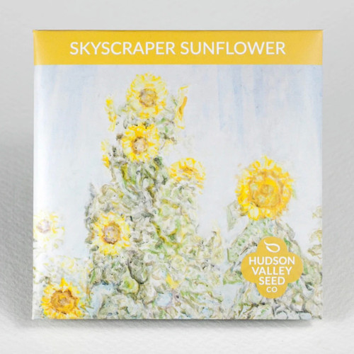 Skyscraper Sunflower Seed Packet