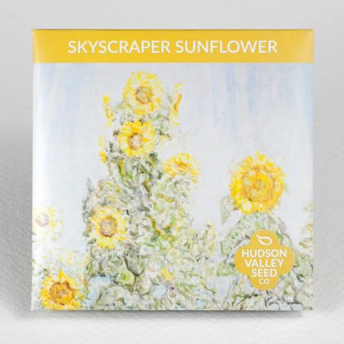 Skyscraper Sunflower Seed Packet