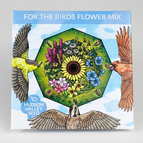 For the Birds Flower Mix Seed Packet