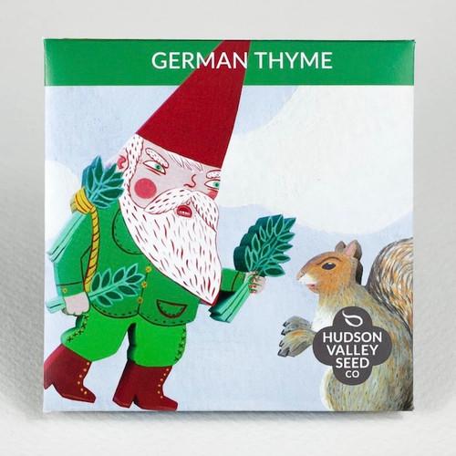 German Thyme Seed Packet