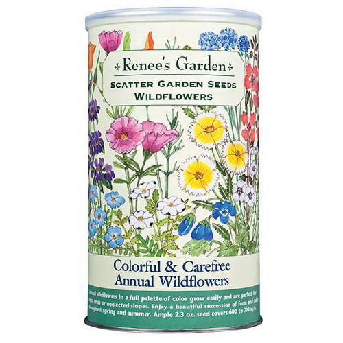 Renee's Garden - Colorful & Carefree Annual Wildflowers Scatter Garden Seeds