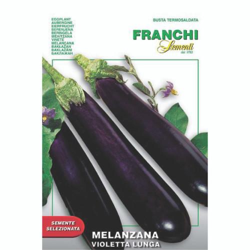 Franchi Seeds - Eggplant Violetta Lunga