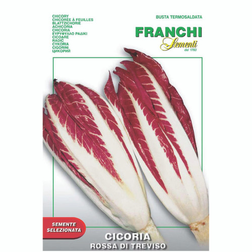 Franchi Seeds - Chicory Rossa di Treviso