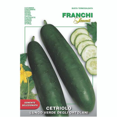 Franchi Seeds - Cucumber Lungo Verde