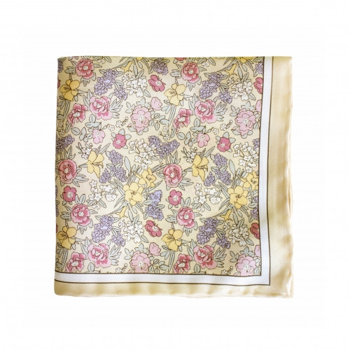 NYBG/125 Anniversary Pocket Square