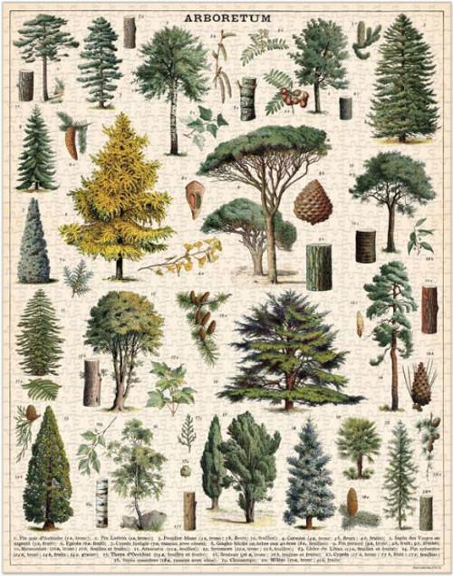 Cavallini & Co - Arboretum Puzzle