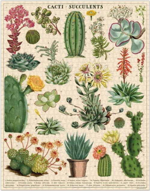 Cavallini & Co - Succulent Puzzle