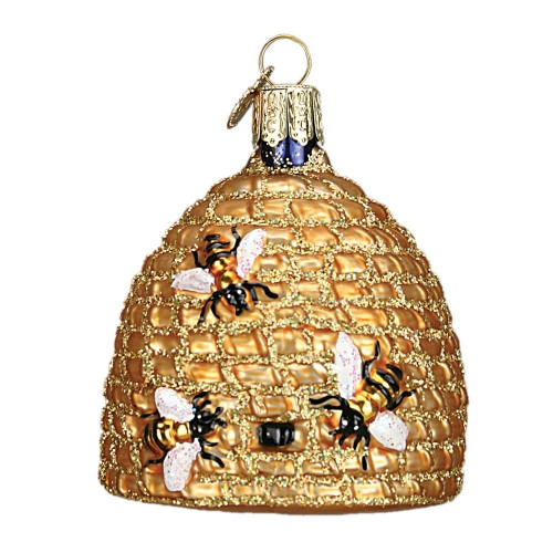 Bee Skep Ornament