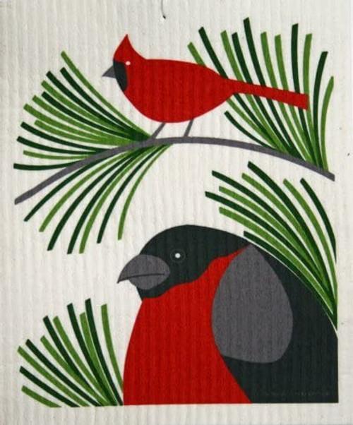 Domherre & Cardinal Dishcloth