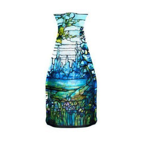 Louis C. Tiffany Iris Plastic Vase