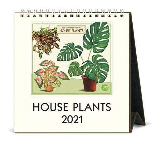 Houseplant Mini Easel 2021 Calendar