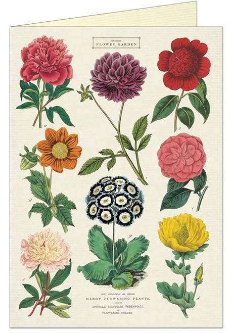 Botanica Flower Greeting Card