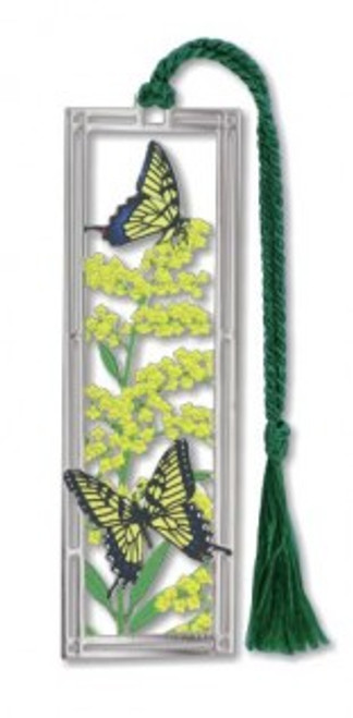 Goldenrod & Swallowtails Bookmark