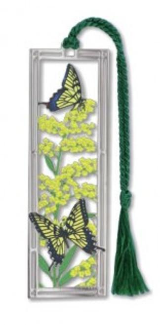 Goldenrod & Swallowtails Bookmark