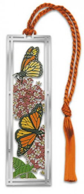 Monarch & Milkweed Bookmark